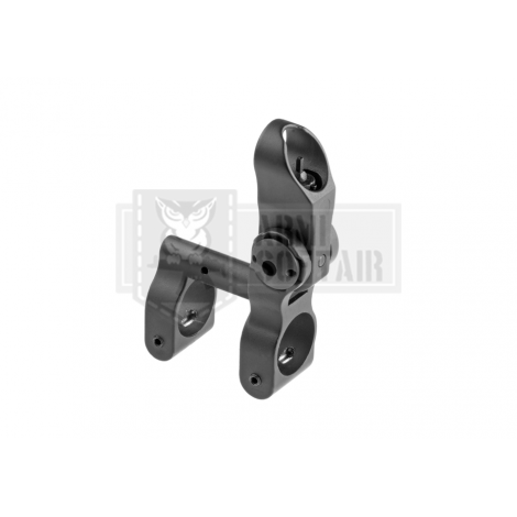 APS TACCA DI MIRA Flip-Up Tactical Front Sight FRONTALE IN METALLO NERA - APS
