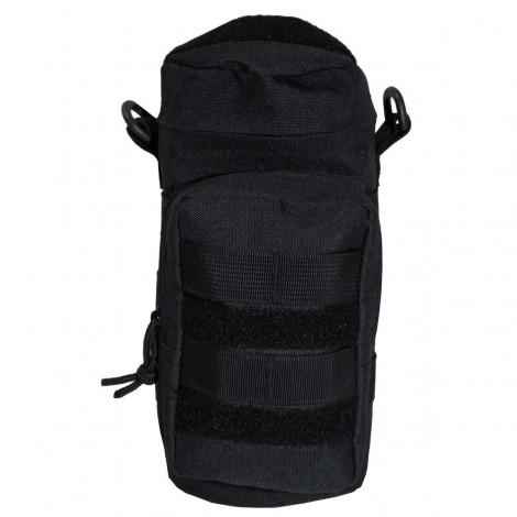 TASCA PORTA BOTTIGLIA Bag round MOLLE NERA BLACK - MFH
