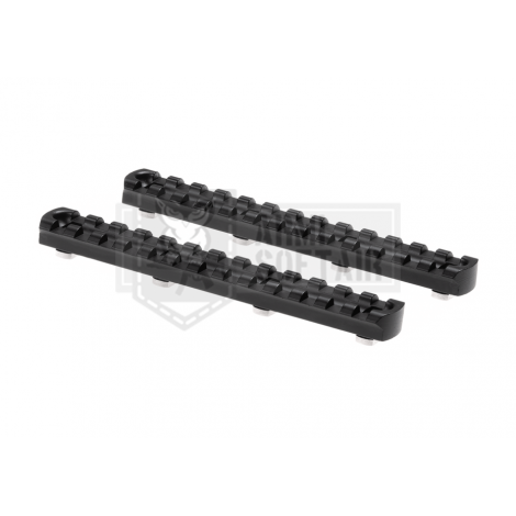 ARES SLITTE RAIL LUNGHE 5.5 Inch M-LOK MLOK Rail 2-Pack NERE - ARES