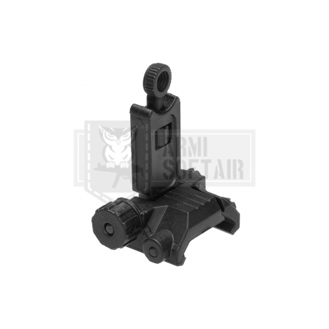 ARES TACCA DI MIRA FRONTALE ASR021 Flip-Up Rear Sight Plastic NERA - ARES