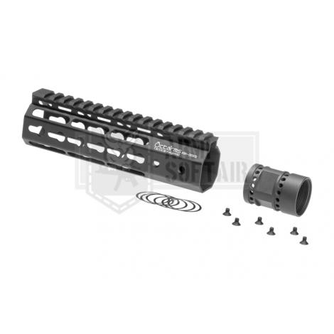 ARES FRONTALE OCTARMS M4 da 7 pollici Keymod Handguard rail Set NERO - ARES