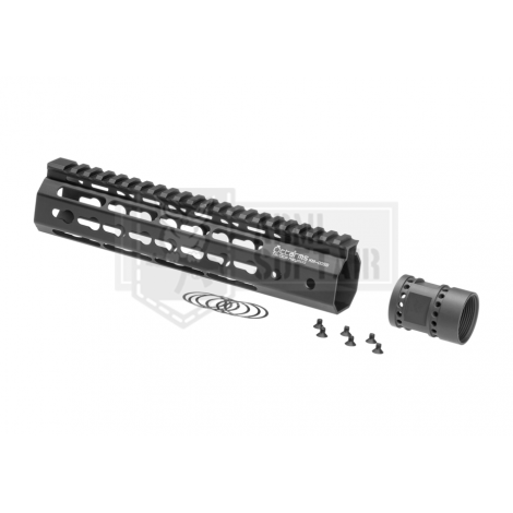 ARES FRONTALE OCTARMS M4 da 9 pollici Keymod Handguard rail Set NERO - ARES