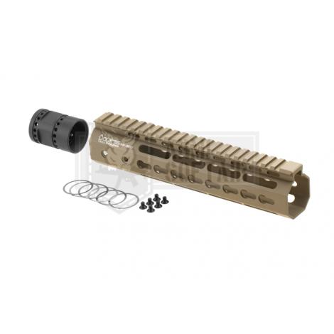 ARES FRONTALE OCTARMS M4 da 9 pollici Keymod Handguard rail Set TAN FDE - ARES