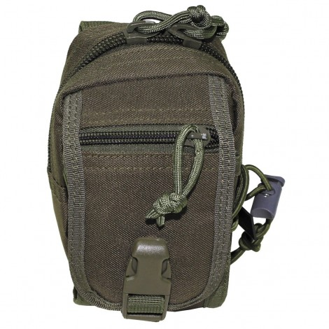 TASCA Utility Pouch Molle small VERDE OD - MFH