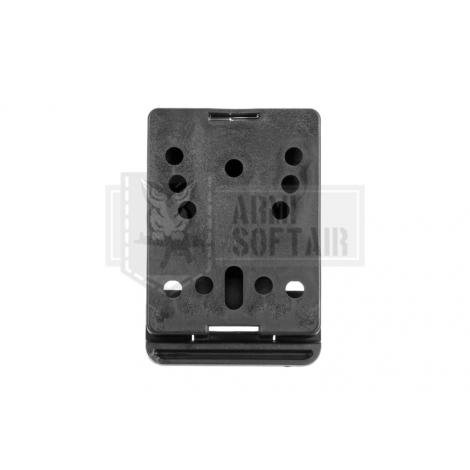 BLACKHAWK ATTACCO Mod-U-Lok Platform with Screws NERO - BLACKHAWK