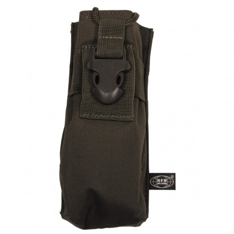 TASCA Radio Pouch Molle VERDE OD - MFH