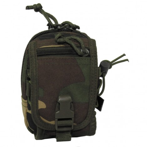 TASCA Utility Pouch Molle small WOODLAND - MFH