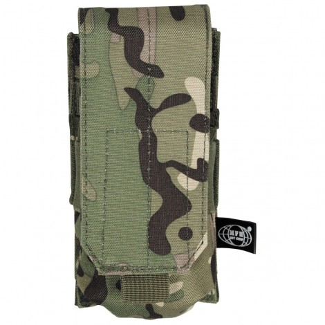 TASCA CARICATORI SINGOLA Ammu Pouch single Molle MULTICAM MC - MFH