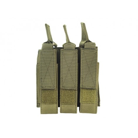 8 FIELDS TASCA TRIPLA CARICATORI MP7 / MP56 / MP9 ELASTICA VERDE OD - 8 FIELDS