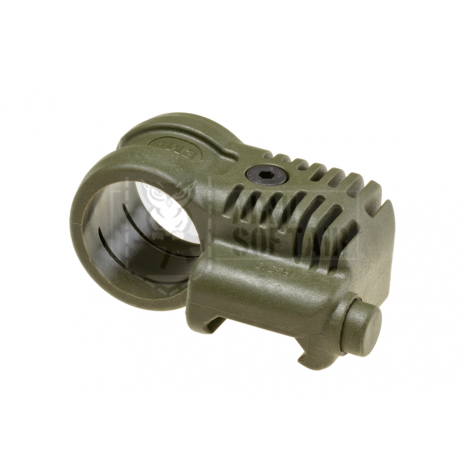 CCA tactical attacco torcia laterale Picatinny QR Offset Flashlight Adaptor VERDE - CAA airsoft