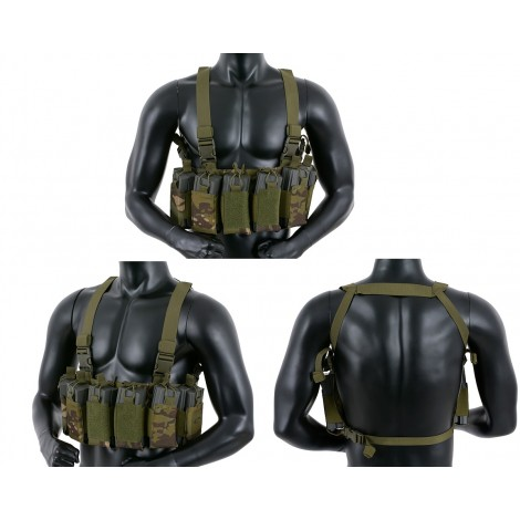 8 FIELDS TATTICO OPEN TOP CHEST RIG MC TROPIC - 8 FIELDS