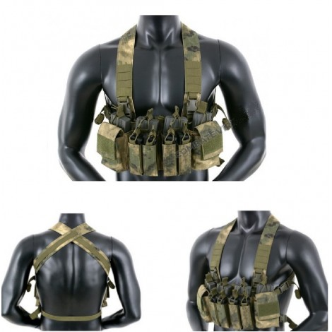 8 FIELDS TATTICO COMPACT MULTI MISSION CHEST RIG ATACS FG - 8 FIELDS
