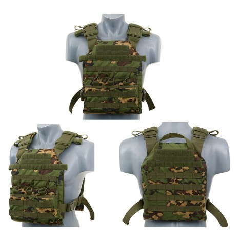 8 FIELDS TATTICO JPC ASSAULT PLATE CARRIER WITH DUMMY SAPI PLATES PARTIZAN - 8 FIELDS