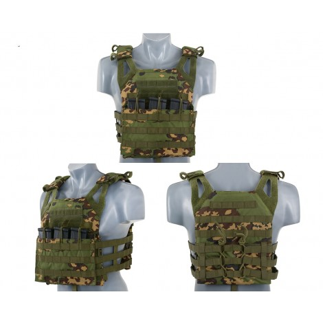8 FIELDS TATTICO JPC JUMP PLATE CARRIER WITH DUMMY SAPI PLATES PARTIZAN - 8 FIELDS