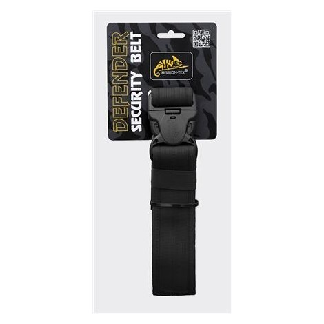 HELIKON CINTURA TATTICA DEFENDER SECURITY BELT NERA BLACK - HELIKON