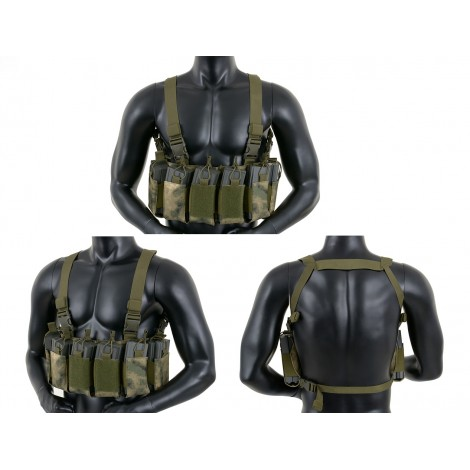 8 FIELDS TATTICO OPEN TOP CHEST RIG ATACS FG - 8 FIELDS