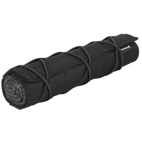 EMERSON COVER GUAINA COPRI SILENZIATORE 220 mm NERO BLACK - EMERSON