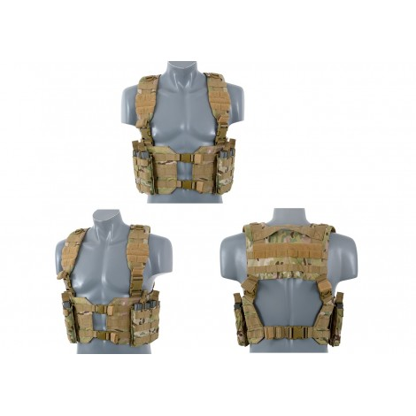 8 FIELDS TATTICO SPLIT FRONT CHEST HARNESS MULTICAM MC - 8 FIELDS