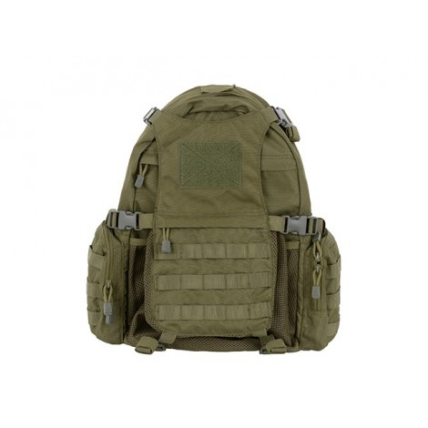 8 FIELDS ZAINO TATTICO BACKPACK HELMET PORTA ELMETTO VERDE OD - 8 FIELDS