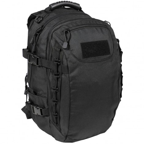 MFH ZAINO TATTICO MILITARE BACKPACK AKTION NERO BLACK - MFH