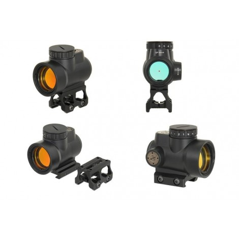 BD 1X25 MRO MINIATURE RIFLE REFLEX SIGHT NERO BLACK - BIG DRAGON