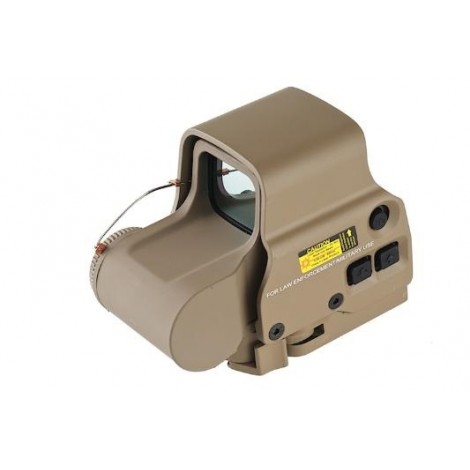 SAS MIRINO SOFTAIR RED / GREEN DOT OLOGRAFICO XPS 3 - 2 QD MOUNT TAN - MADE IN CHINA