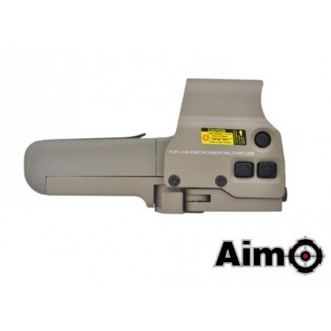 AIM-O RED / GREEN DOT OLOGRAFICO 558 QD DE TAN - AIM-O