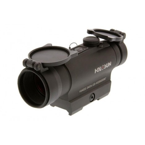 HOLOSUN INFINITI HS402D RED DOT SIGHT 30 mm NERO BLACK - HOLOSUN