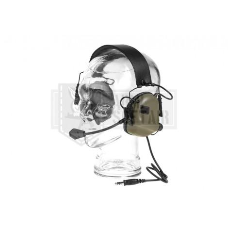 EARMOR by OPSMAN CUFFIE TACTICAL HEARING PROTECTION M32 VERDI FG FOLIAGE GREEN - EARMOR