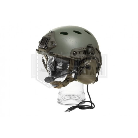 EARMOR by OPSMAN CUFFIE TACTICAL HEARING PROTECTION M32H VERDI FOLIAGE GREEN FG - EARMOR