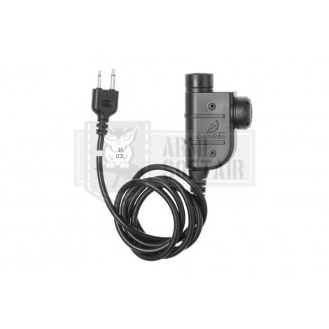 Z-TAC zSLX PTT ICOM Connector - Z-TACTICAL