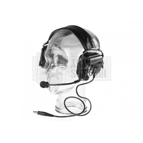 Z-TAC Comtac IV Headset Military Standard Plug NERE BLACK - Z-TACTICAL