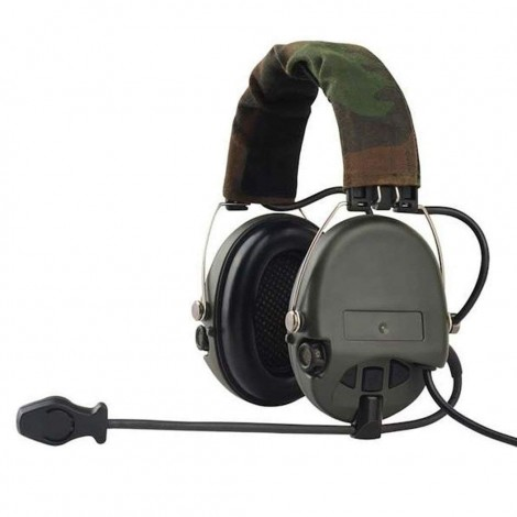 Z-TAC Sordin Headset Official Version FOLIAGE GREEN - Z-TACTICAL