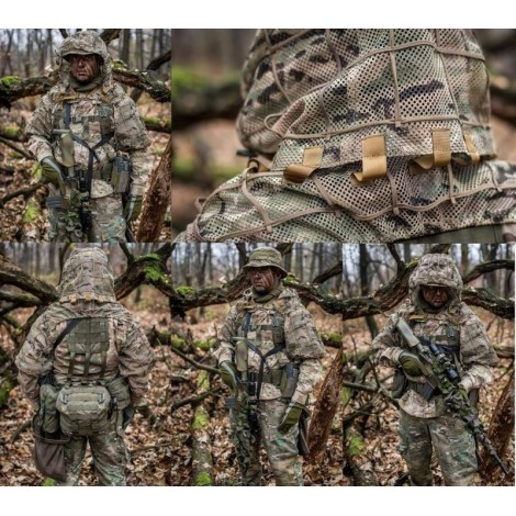 SCG Ghillie base Viper Hood Pro MULTICAM MC - SCG