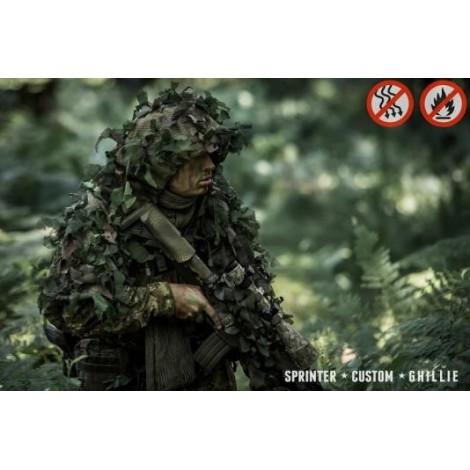SCG Ghillie base Viper Hood Evo ATACS FG - SCG