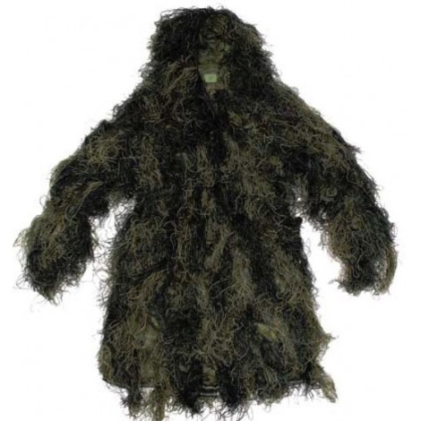 MFH GHILLIE SUIT PARKA GIACCA WOODLAND M / L - MFH