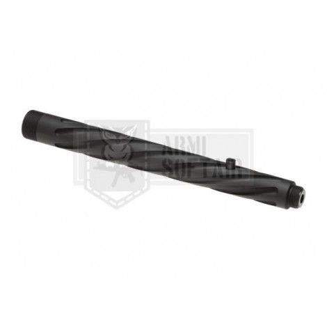 AMOEBA STRIKER S1 CANNA CORTA FLUTED OUTER BARREL SHORT NERA BLACK - AMOEBA