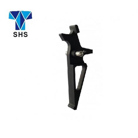 SHS GRILLETTO SPEED TRIGGER ALLUMINIO CNC PER M4 / M16 NERO - SHS