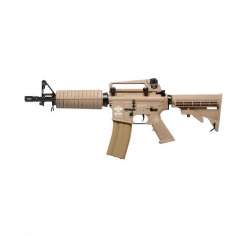 G&G FUCILE ELETTRICO ASG AEG CM16 M4A1 CQB DESERT TAN - G&G