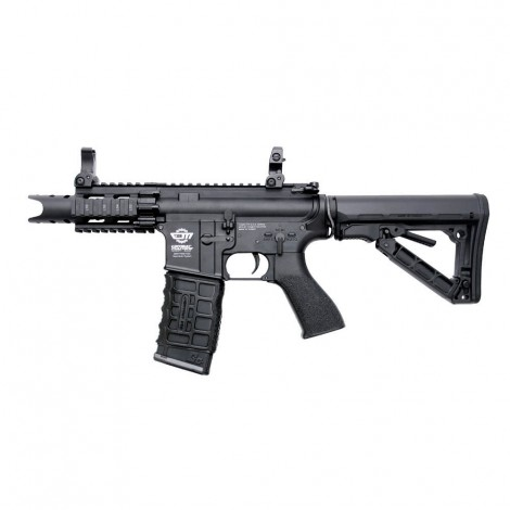 G&G FUCILE ELETTRICO ASG AEG FIRE HAWK CQB HC05 HIGH CYCLE NERO BLACK - G&G