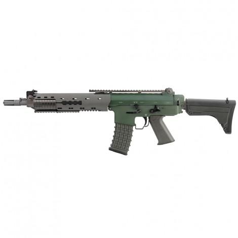 G&G FUCILE ELETTRICO ASG AEG GK5C AK5 SVEDESE METAL VERDE GREEN / GRIGIO - G&G