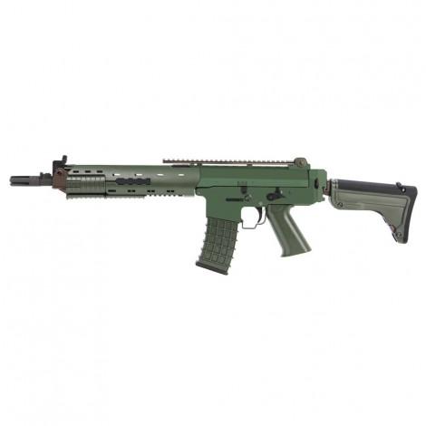 G&G FUCILE ELETTRICO ASG AEG GK5C AK5 SVEDESE METAL VERDE GREEN - G&G