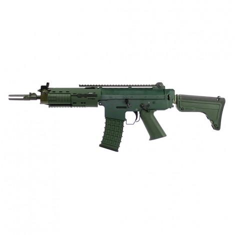 G&G FUCILE ELETTRICO ASG AEG GK5C AK5 SVEDESE CORTO METAL VERDE GREEN - G&G