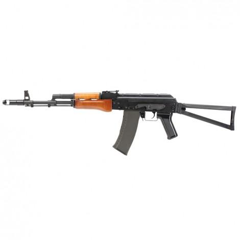 G&G FUCILE ELETTRICO ASG AEG AK74 GK74 AK SU LUNGO METAL NERO BLACK - G&G