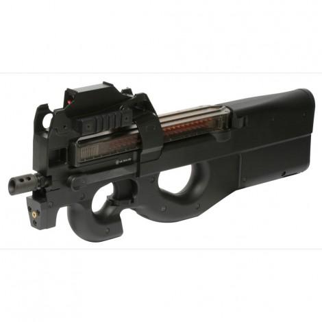 G&G FUCILE ELETTRICO ASG AEG PDW99 P90 CON RED DOT NERO BLACK - G&G