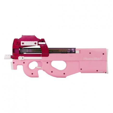 G&G FUCILE ELETTRICO ASG AEG PDW99 P90 CON RED DOT ROSA PINK - G&G