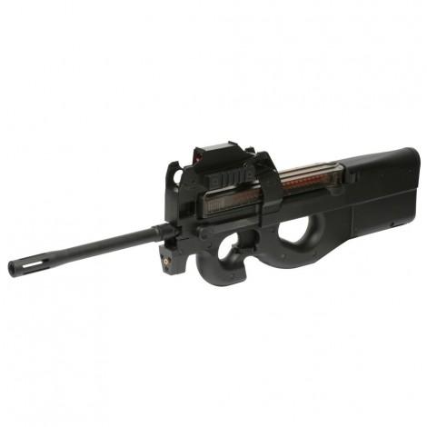 G&G FUCILE ELETTRICO ASG AEG PDW99 L P90 LONG CON RED DOT NERO BLACK - G&G