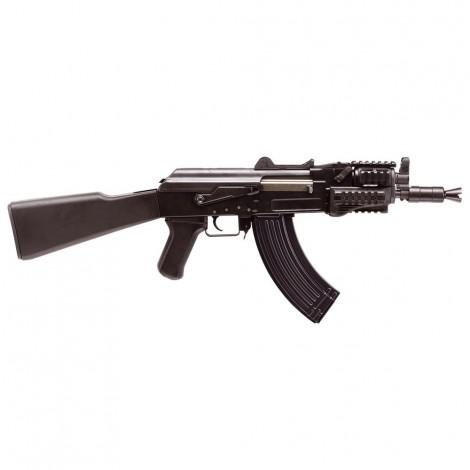 G&G FUCILE ELETTRICO ASG AEG AK47 BETA SPETSNAZ RIS METALLO NERO BLACK - G&G