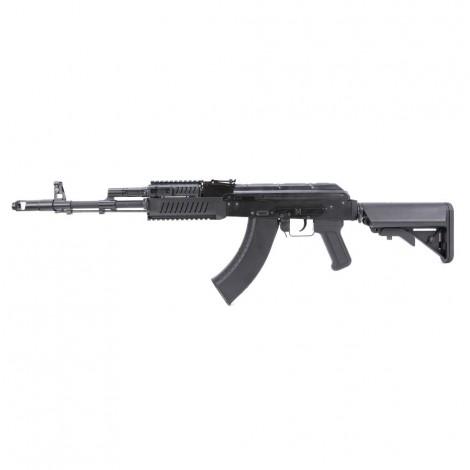 G&G FUCILE ELETTRICO ASG AEG AK74 RK103 EVO CRANE RIS METALLO NERO BLACK - G&G