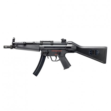 G&G FUCILE ELETTRICO ASG AEG MP5 TGM A4 CALCIO FISSO EBB BLOWBACK METALLO NERO BLACK - G&G